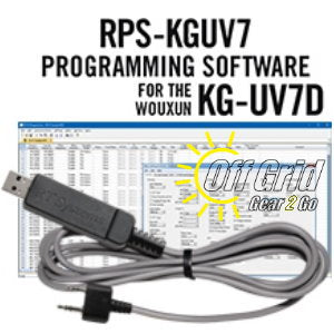RTS Wouxun RPS-KGUV7 Programming Software Cable Kit