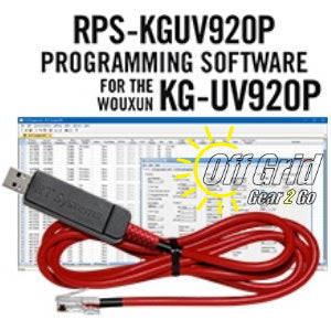 RTS Wouxun RPS-KGUV920P Programming Software Cable Kit