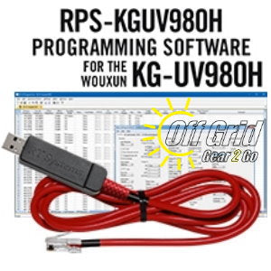 RTS Wouxun RPS-KGUV980H Programming Software Cable Kit