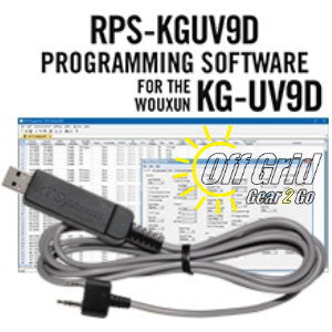 RTS Wouxun RPS-KGUV9D/H Programming Software Cable Kit