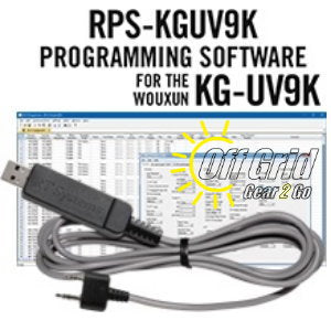 RTS Wouxun RPS-KGUV9K Programming Software Cable Kit