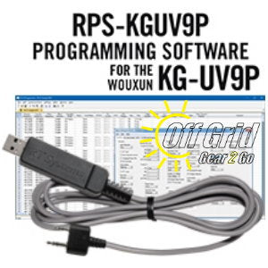 RTS Wouxun RPS-KGUV9P Programming Software Cable Kit