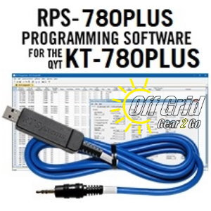 RTS QYT RPS-780PLUS Programming Software Cable Kit
