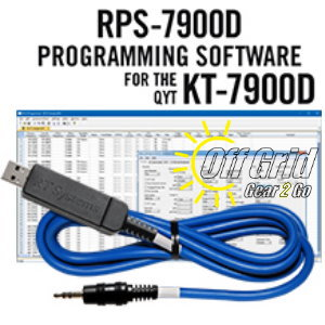 RTS QYT RPS-7900D Programming Software Cable Kit
