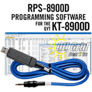 RTS QYT RPS-8900D Programming Software Cable Kit
