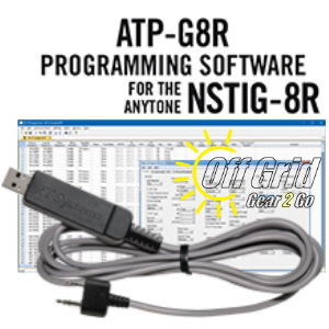 RTS Anytone ATP-G8R Programming Software Cable Kit