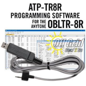 RTS Anytone ATP-TR8R Programming Software Cable Kit