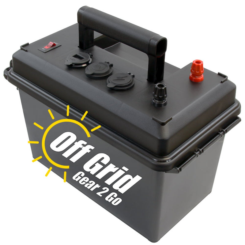 PWRbox - Portable Power Box for 12-40Ah Bioenno Batteries