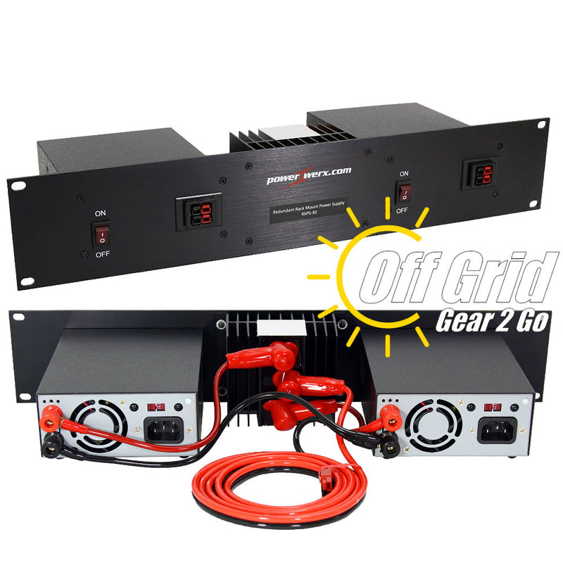 RSPS-30 - 30 Amp Redundant Rack Mount Switching Power Supply