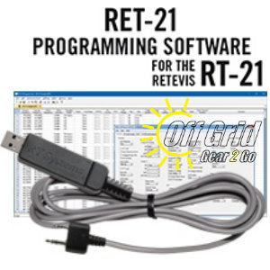 RTS Retevis RET-21 Programming Software Cable Kit
