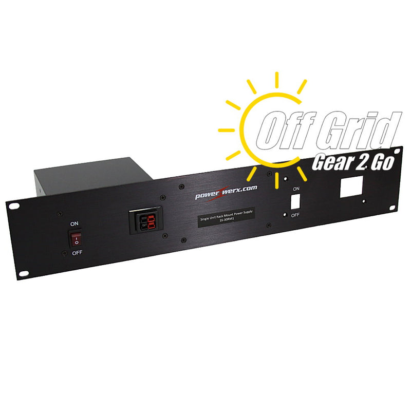 SS-30RM1 - 30 Amp Single Unit Rack Mount Switching Power Supply