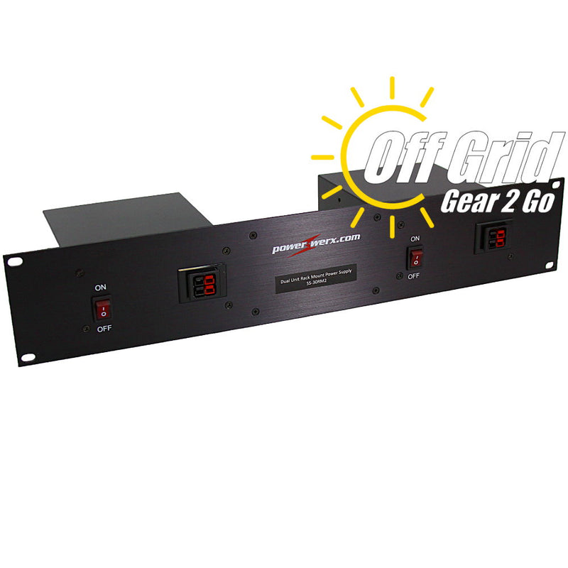 SS-30RM2 - 30 Amp Dual Unit Rack Mount Switching Power Supply