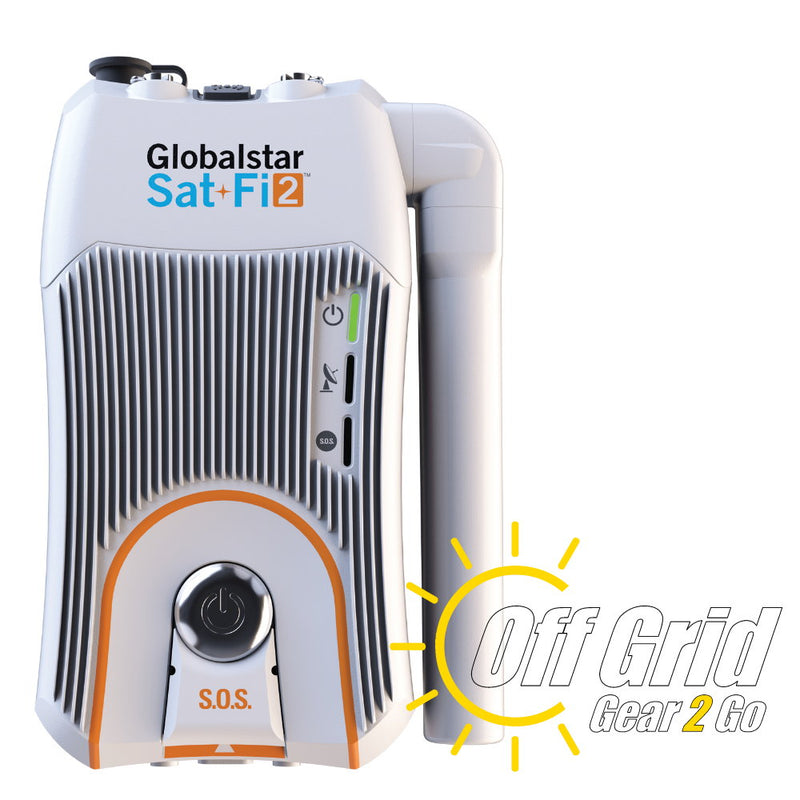 Globalstar Sat-Fi2 Satellite Wi-Fi Hotspot (Connects up to 8 Smart Devices)