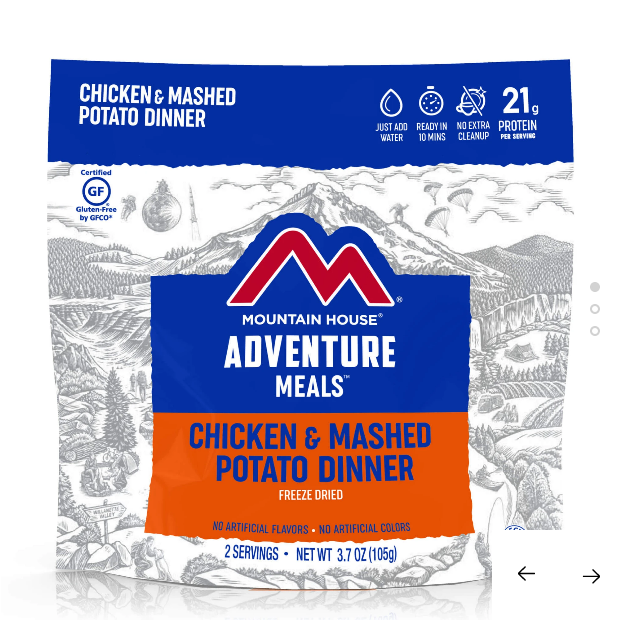 MH Freeze Dried Chicken and Mashed Potato Dinner - Pouch GF