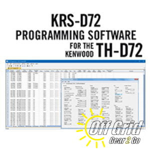 RTS Kenwood KRS-D72 Programming Software Only - No Cable