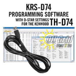 RTS Kenwood KRS-D74 Programming Software Cable Kit