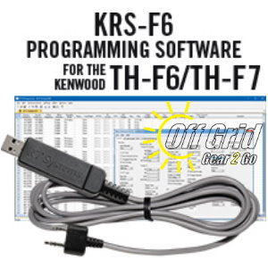 RTS Kenwood KRS-F6/F7 Programming Software and Cable Kit