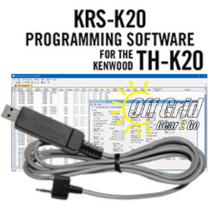 RTS Kenwood KRS-K20 Programming Software Cable Kit