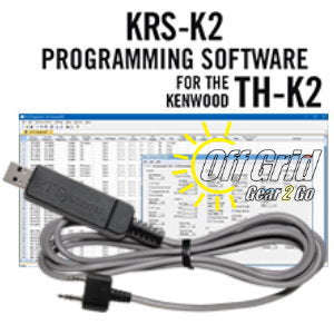 RTS Kenwood KRS-K2 Programming Software and Cable Kit