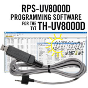 RTS TYT RPS-UV8000D/E Programming Software Cable Kit