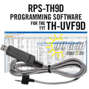 RTS TYT RPS-UVF9 Programming Software Cable Kit