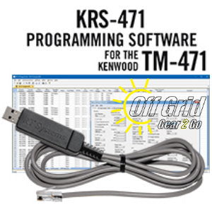 RTS Kenwood KRS-471 Programming Software Cable Kit