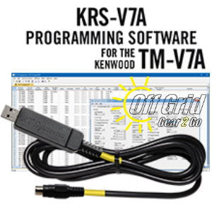 RTS Kenwood KRS-V7A Programming Software and Cable Kit