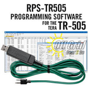 RTS TERA RPS-TR505 Programming Software Cable Kit