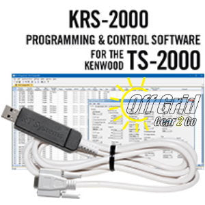 RTS Kenwood KRS-2000 Programming Software and Cable Kit