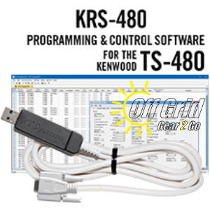 RTS Kenwood KRS-480 Programming Software Cable Kit