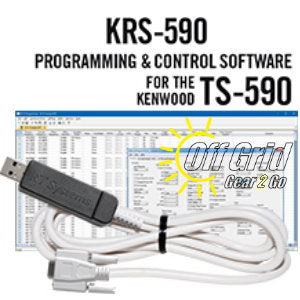 RTS Kenwood KRS-590 Programming Software and Cable Kit