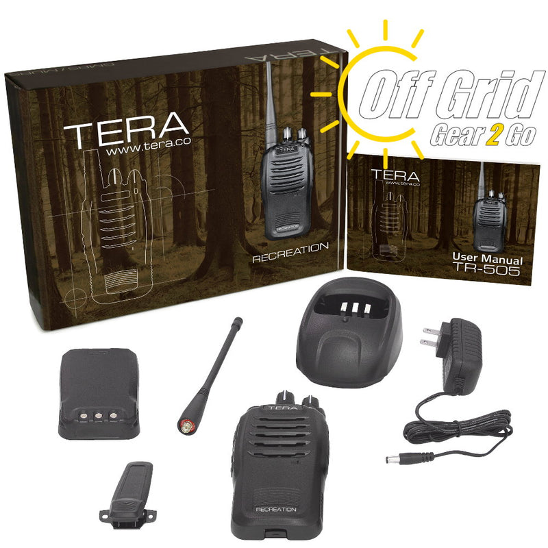 TERA TR-505 GMRS Recreational Handheld Radio