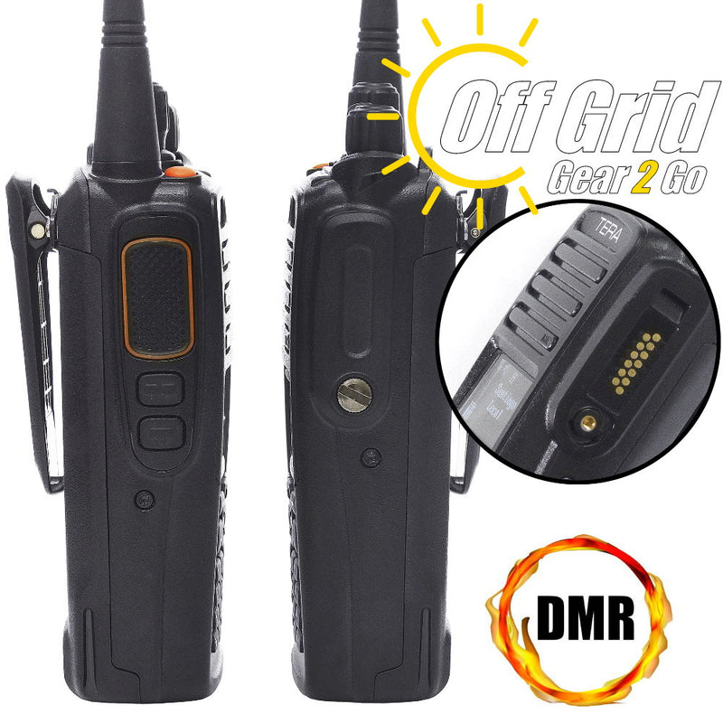 TERA TR-7200 Digital DMR VHF 1024 Channel Handheld Commercial Radio