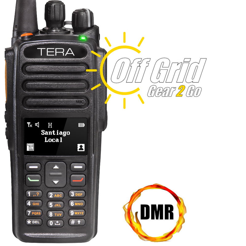 TERA TR-7400 Digital DMR UHF 1024 Channel Handheld Commercial Radio