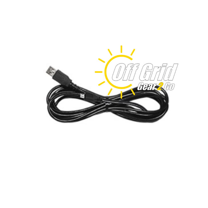 RTS USB-49 Programming Cable     (Micro USB Plug - Black Cable)