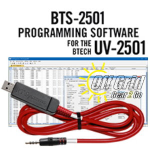 RTS BTECH BTS-2501 Programming Software Cable Kit