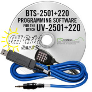 RTS BTECH BTS-2501+220 Programming Software Cable Kit