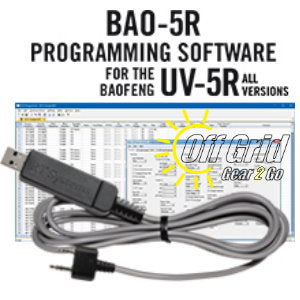 RTS Baofeng BAO-5R Programming Software Cable Kit