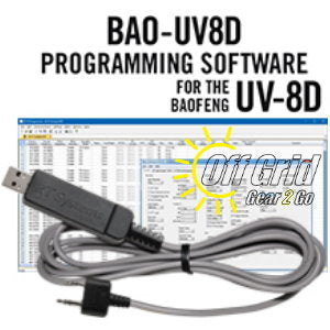 RTS Baofeng BAO-UV8D Programming Software Cable Kit
