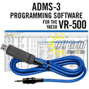 RTS Yaesu ADMS-3 Programming Software Cable Kit