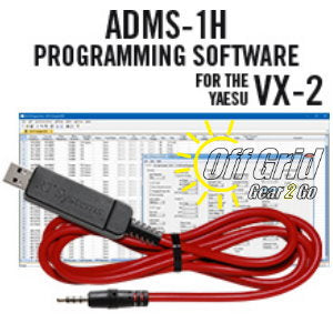 RTS Yaesu ADMS-1H Programming Software Cable Kit