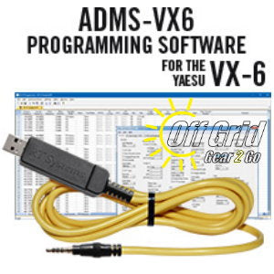 RTS Yaesu ADMS-VX6 Programming Software Cable Kit