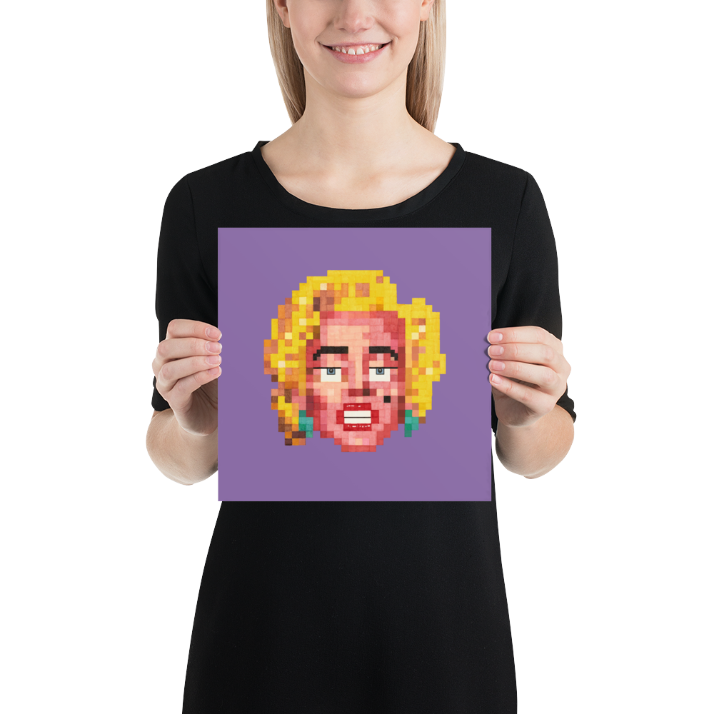 Pop Poster (Unframed) - The Marahlyn (Oscar)