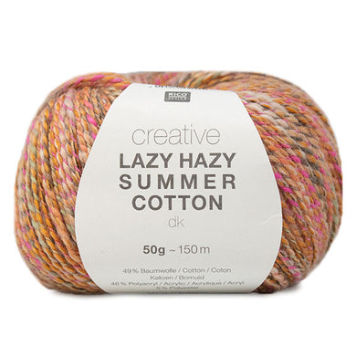 Rico Creative - Lazy Hazy Summer Cotton DK - 4 Colours