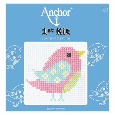 Anchor 1st Cross Stitch - Bird