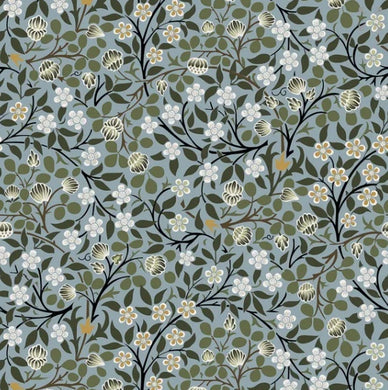 William Morris - Clover Mural Citadel - 100% Cotton