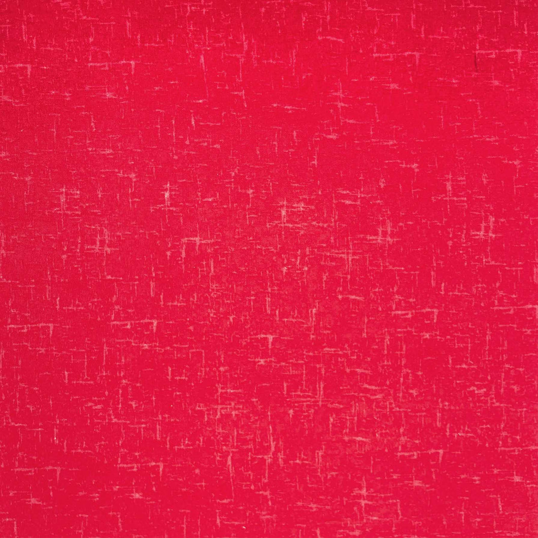 Textured Blender - Red - 100% Cotton