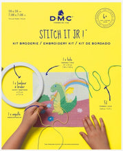 Load image into Gallery viewer, DMC Stitch It Jr! Cross Stitch Kit - The Dragon