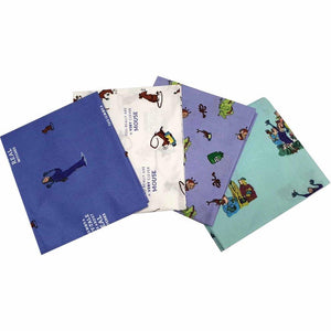 Fat Quarter Pack - Roald Dahl - The Witches