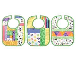 Quilt As you go by June Tailor - Baby Bibs